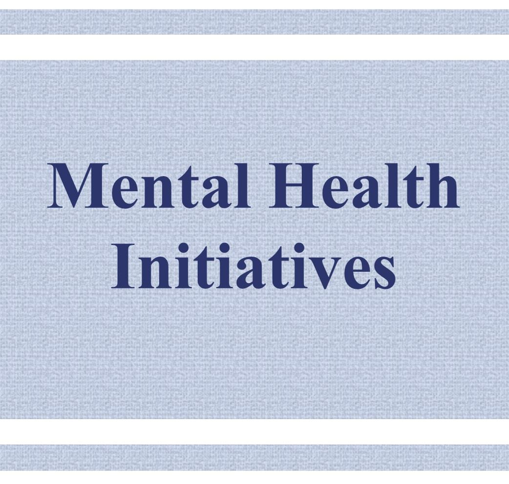 Mental Health Initiatives Button